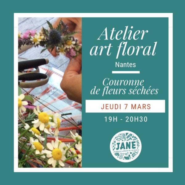 Atelier couronne de fleurs, Nantes