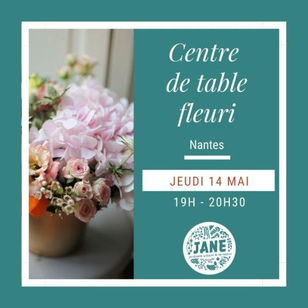 centre de table fleuri, Atelier Anouk Autier