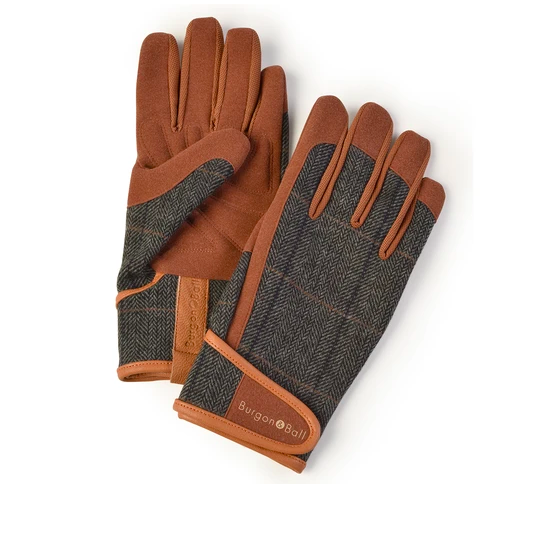 gants tweed, Burgon and Ball