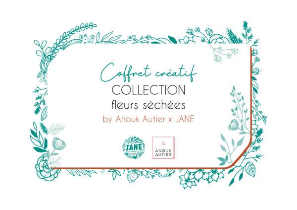 coffret créatif fleurs séchées Anouk Autier
